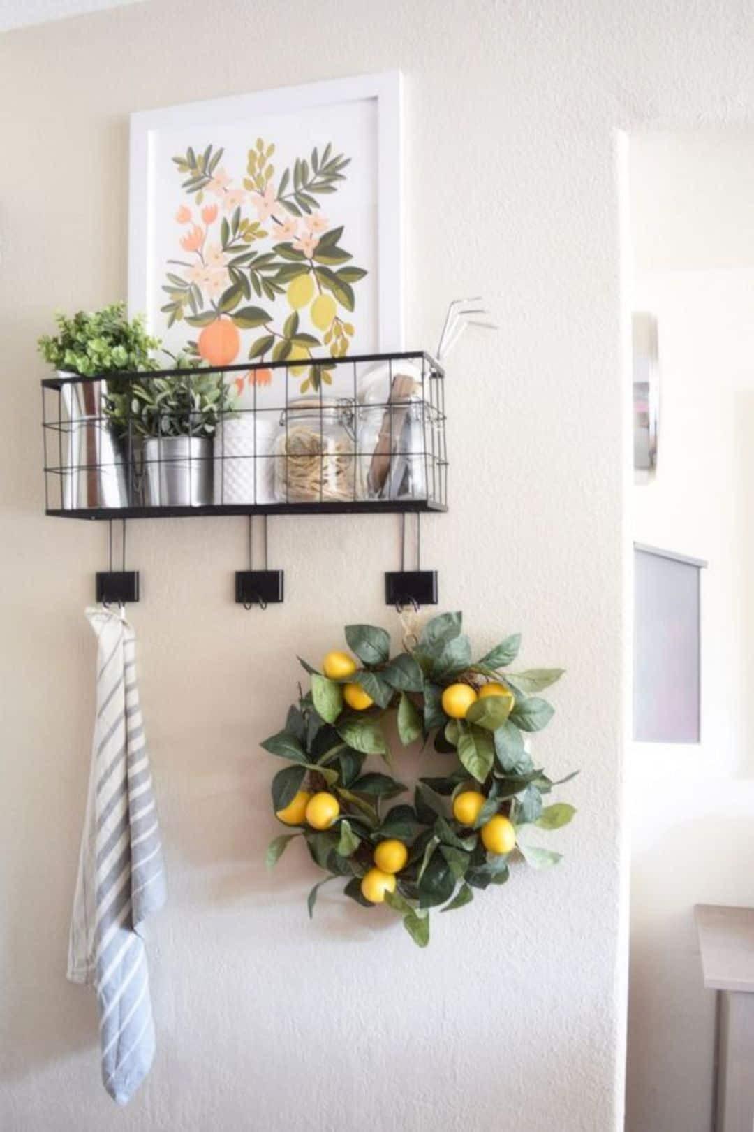 Kitchen Wall Signs  16 Stunning Kitchen Wall Decorating Ideas