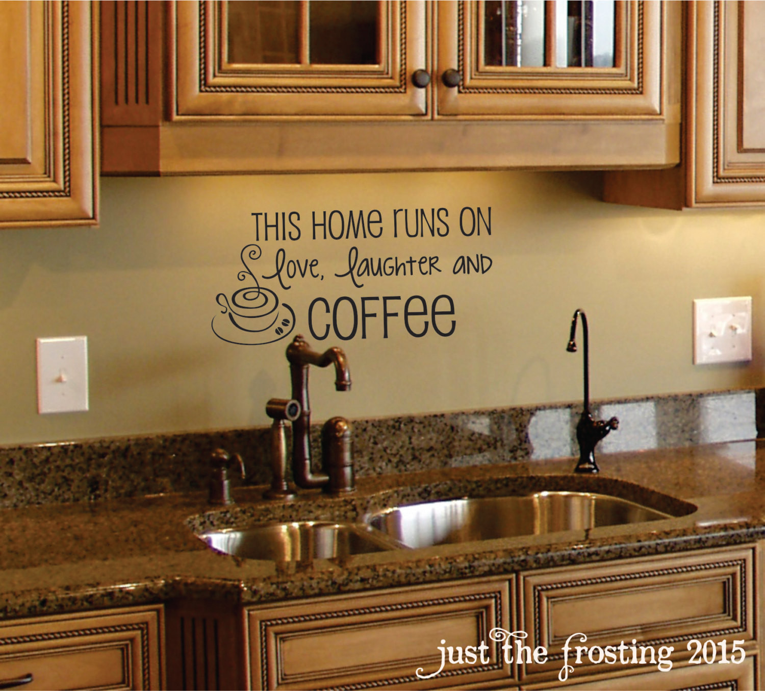 Kitchen Wall Signs  Coffee Wall Decal Coffee Decor Kitchen Wall Decal