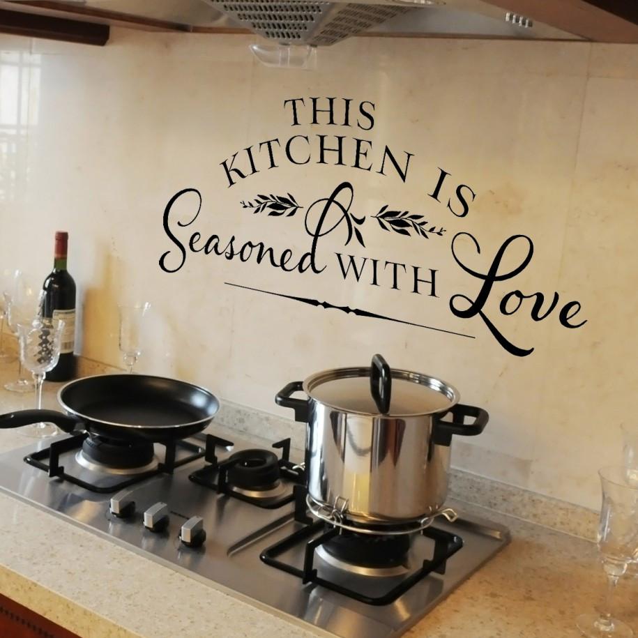 Kitchen Wall Signs  17 Stunning Kitchen wall Decor Ideas