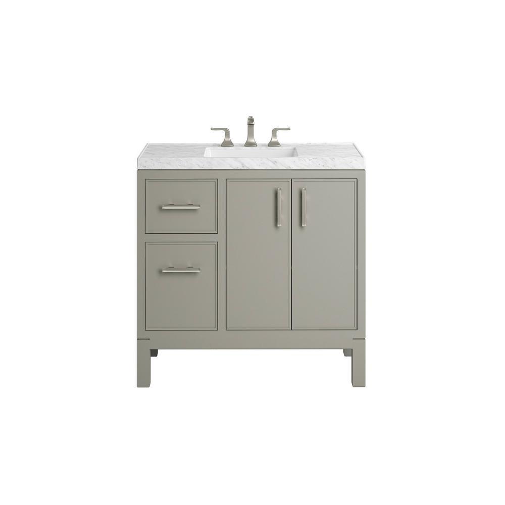 Kohler Bathroom Vanity  KOHLER Rubicon 36 in Bath Vanity Single Basin Vanity Top