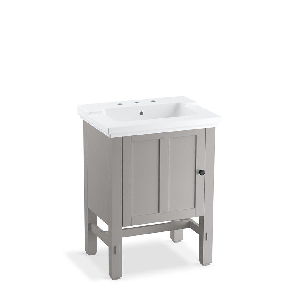 """Kohler Bathroom Vanity  Kohler Tresham 25"""" Single Bathroom Vanity Top & Reviews"""