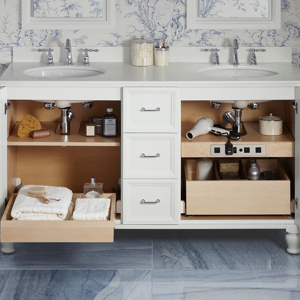 Kohler Bathroom Vanity  Conquer Your Bathroom Clutter with Tailored Vanity Storage