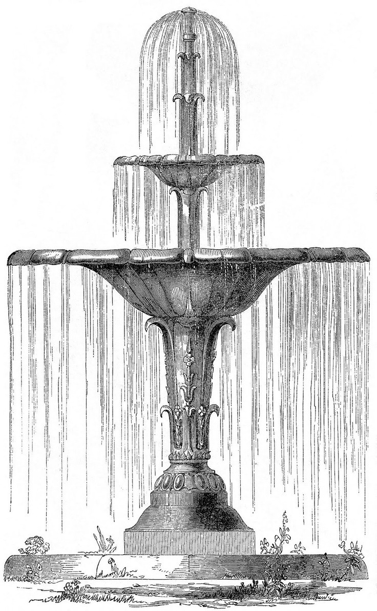 Landscape Fountain Sketch Best Of 14 Best Fountains Images On Pinterest