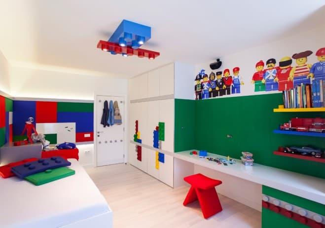 Lego Kids Room  Kids room ideas Lego room decor – HOUSE INTERIOR
