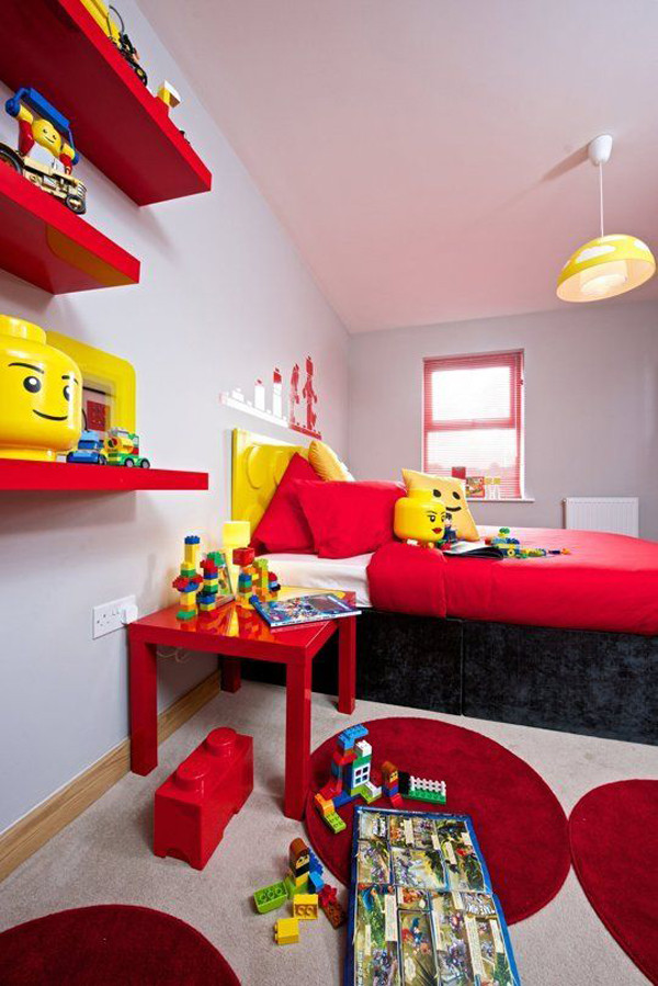 Lego Kids Room Inspirational 10 Best Kids Bedroom with Lego themes