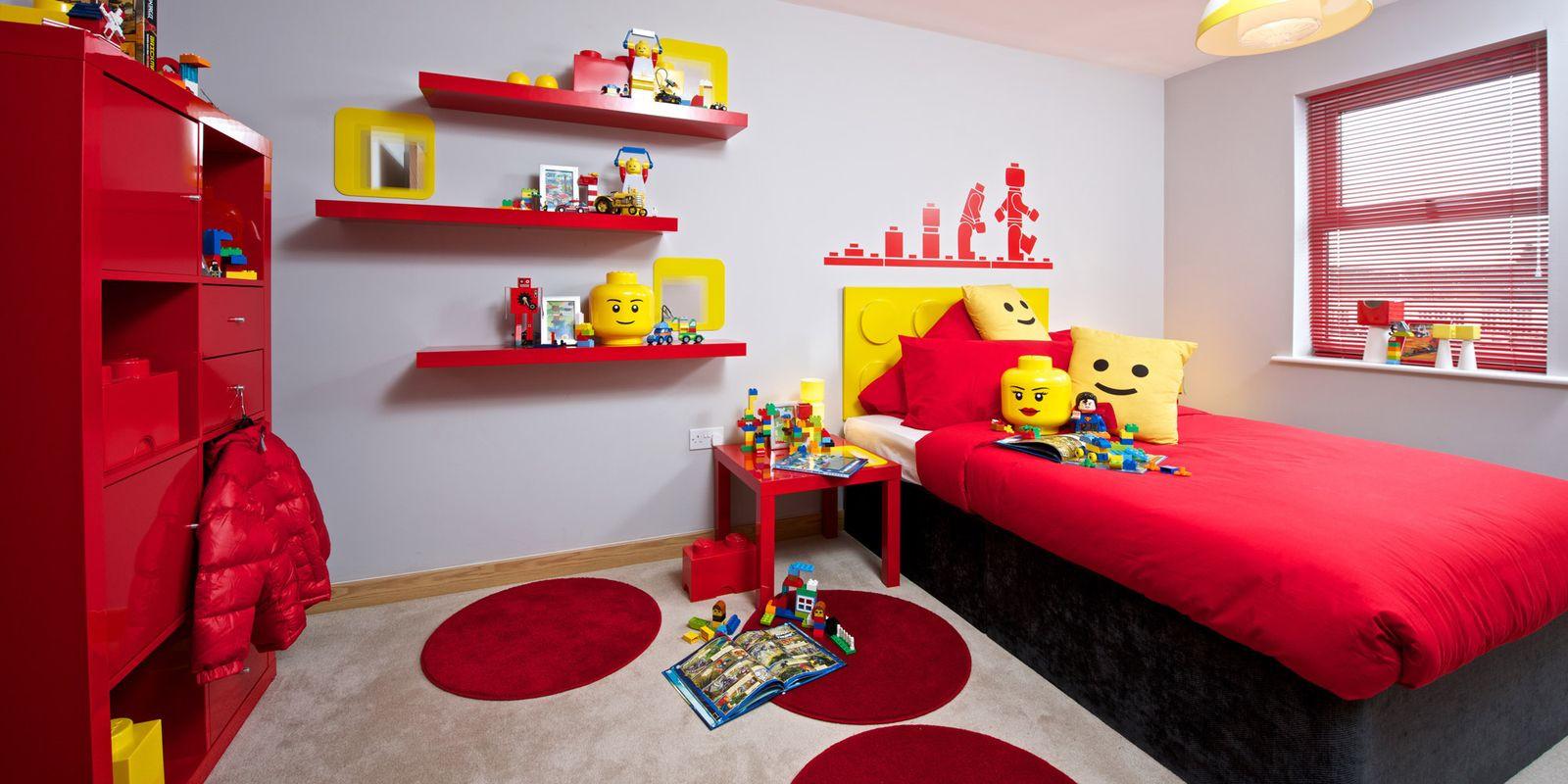 Lego Kids Room  LEGO Kids Bedroom Weston Homes Lego Room
