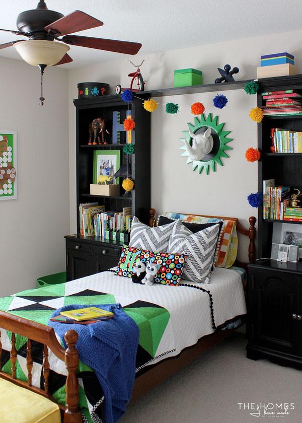 Little Boys Bedroom  A Jungle Themed Little Boy s Room The Reveal