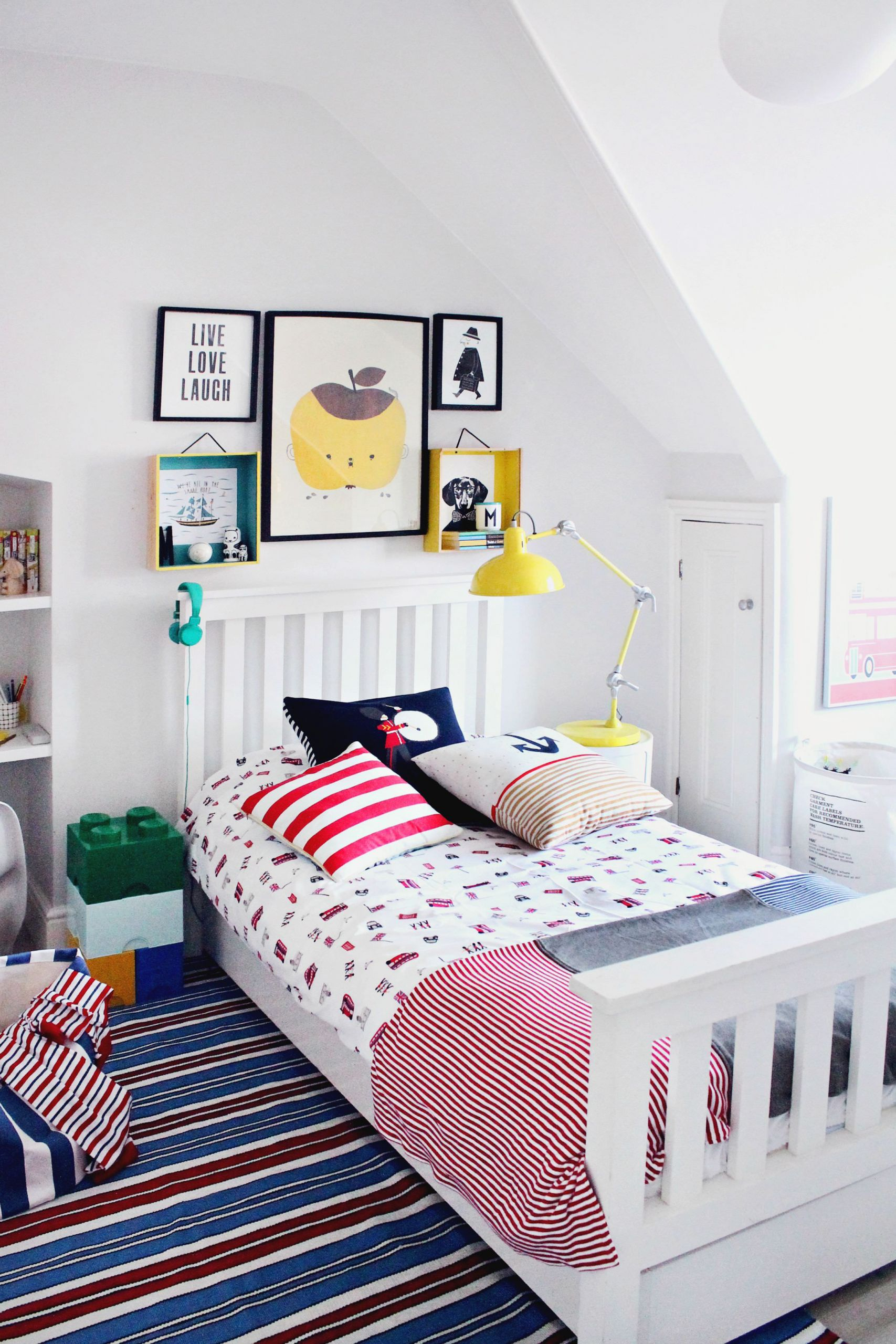 Little Boys Bedroom  littleBIGBELL Boy s bedroom makeover with The Little White