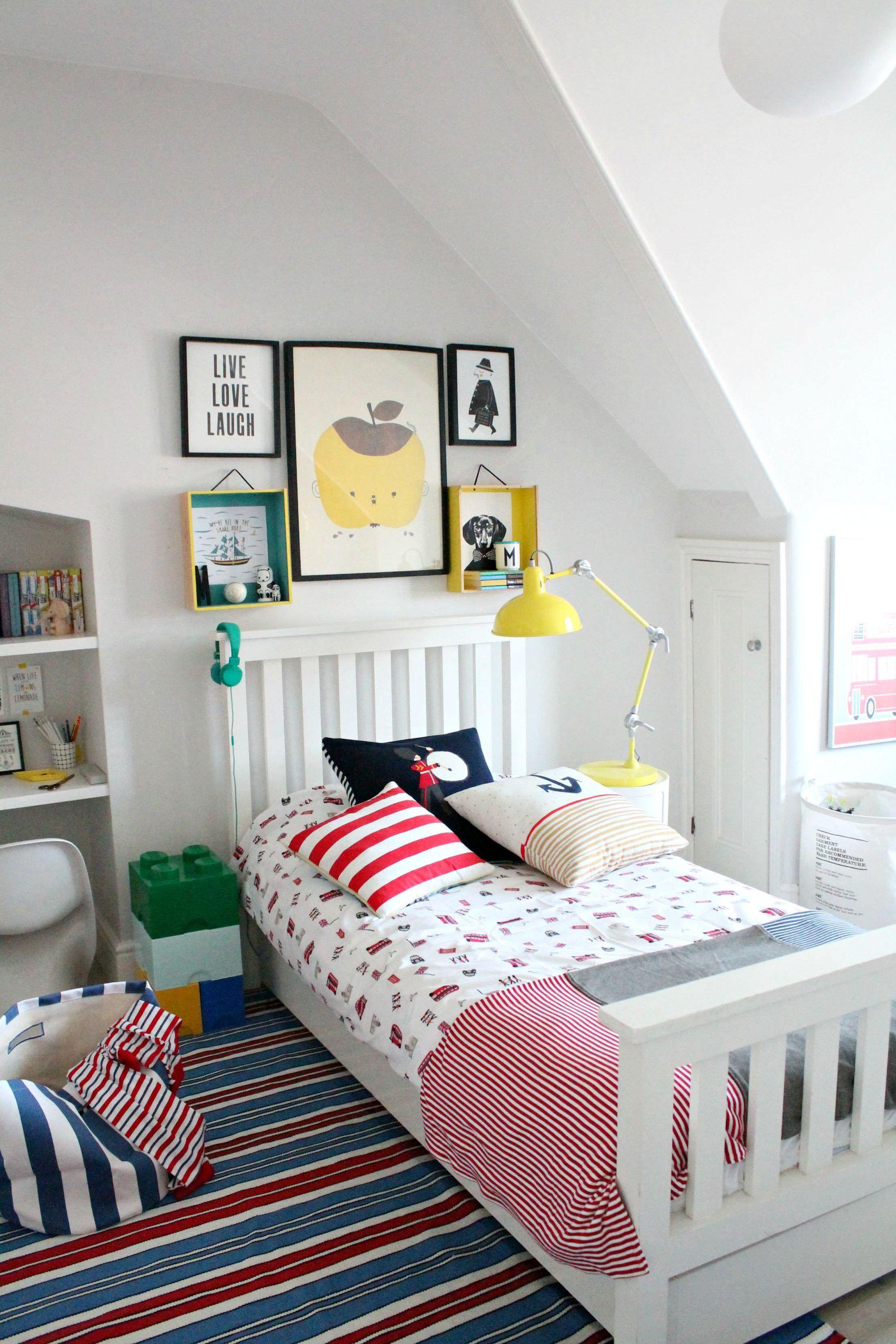 Little Boys Bedroom  littleBIGBELL Boy s bedroom Ideas Decorating with a rug