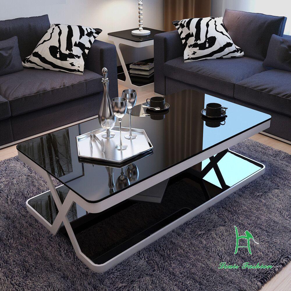 Living Room Glass Table  Louis Fashion Modern Simple Living Room End Table Glass
