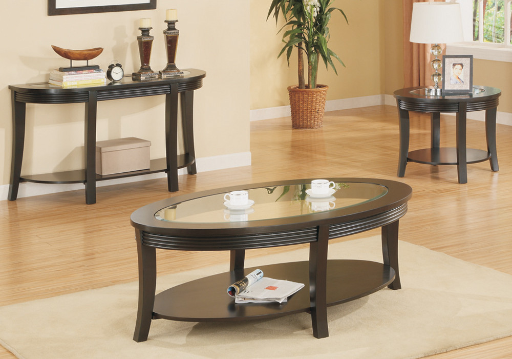 Living Room Glass Table  Living Room Countertop Coffee End Console Table Glass