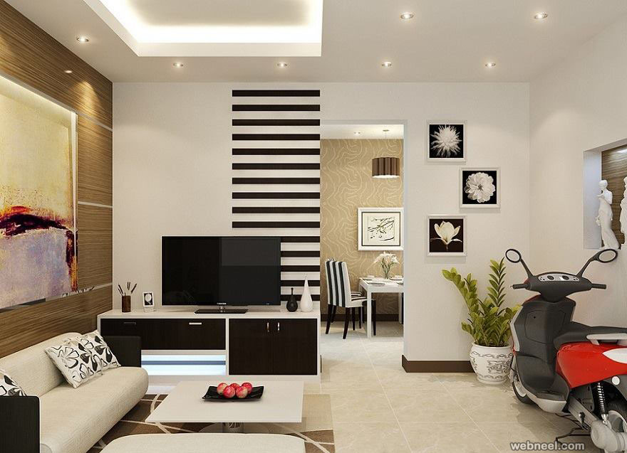 Living Room Walls Paint Inspirational 50 Beautiful Wall Painting Ideas and Designs for Living