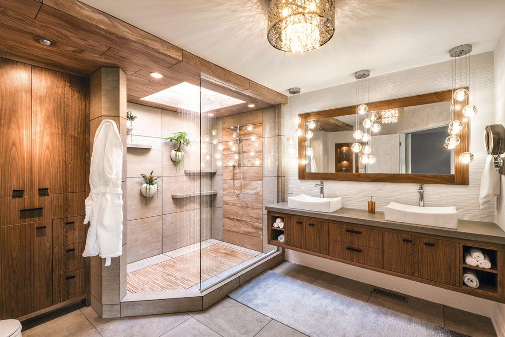 Master Bathroom Plans  Mother Nature Inspires Master Bath