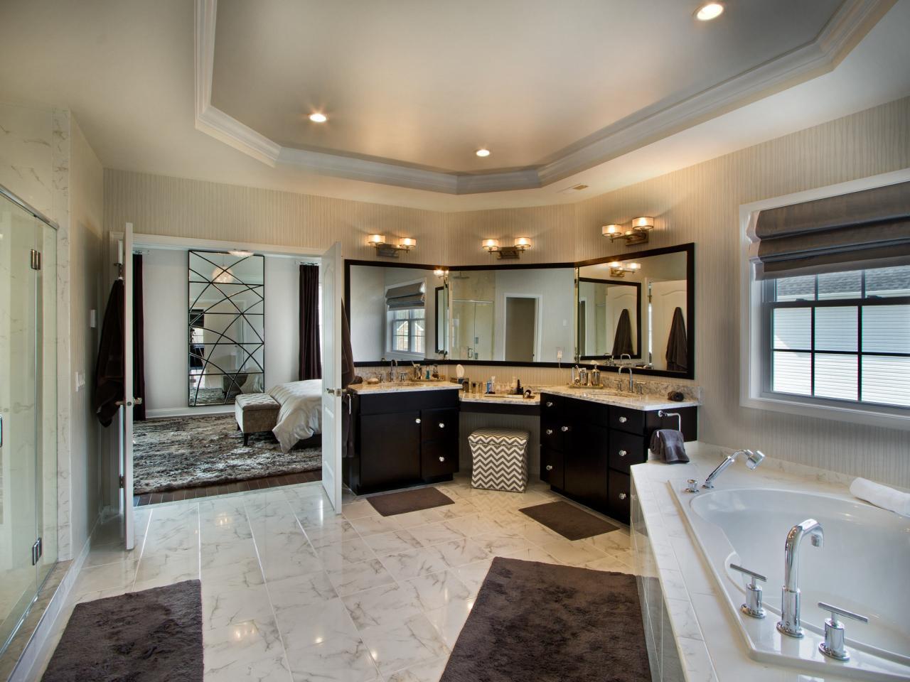 Master Bathroom Plans  25 Extraordinary Master Bathroom Designs