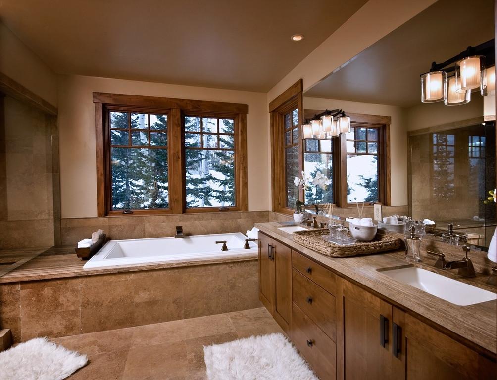 Master Bathroom Plans  Luxurious Master Bathrooms Design Ideas With