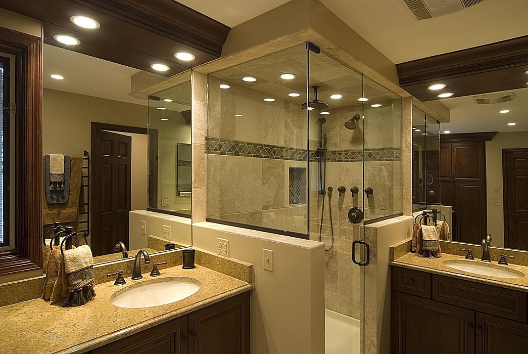 Master Bathroom Without Tub  Master Bathroom Ideas EAE Builders