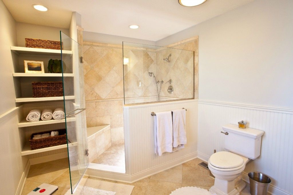 Master Bathroom Without Tub  Project Highlight Removing An Unused Garden Tub in a