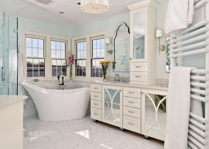 Master Bathroom Without Tub  No Tub for the Master Bath Good Idea or Regrettable Trend