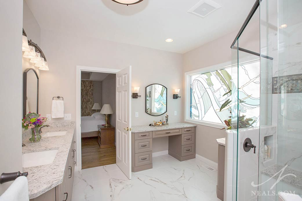 Master Bathroom Without Tub  Master Bathrooms Without a Tub