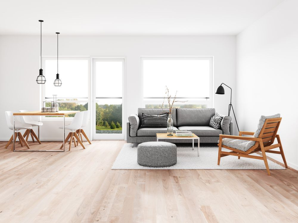 Minimalistic Living Room  A Minimalist Living Room Simplicity Beauty and fort