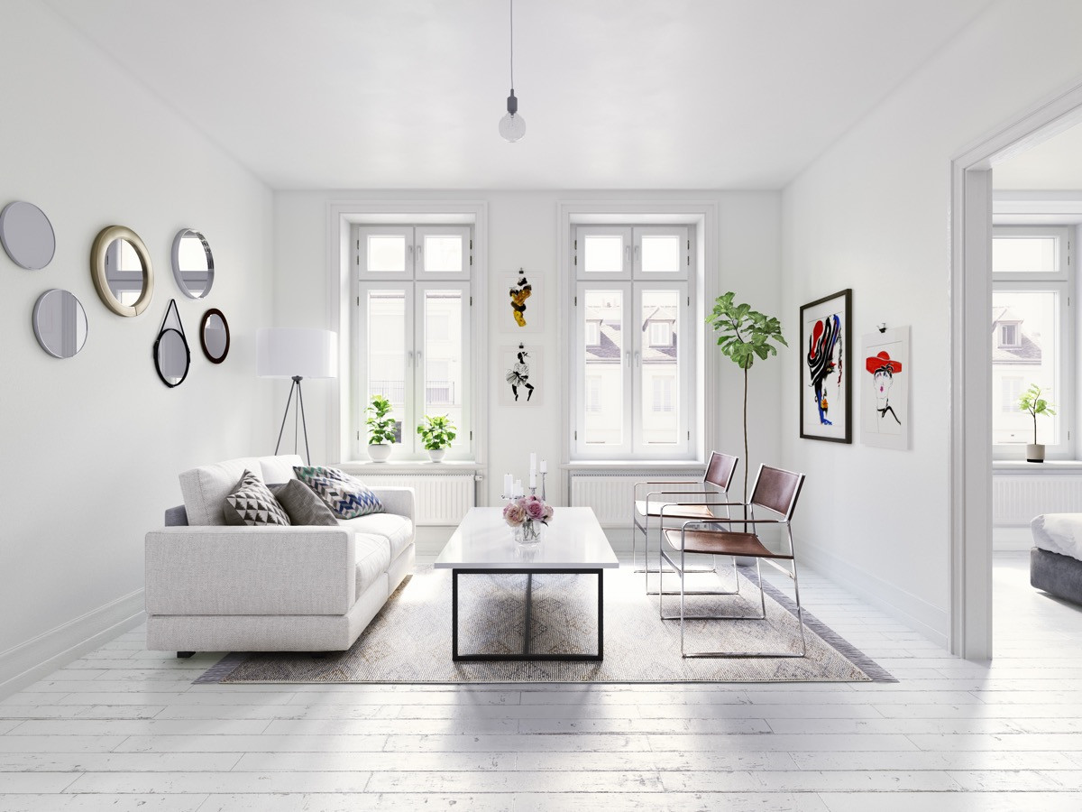 Minimalistic Living Room  40 Gorgeously Minimalist Living Rooms That Find Substance