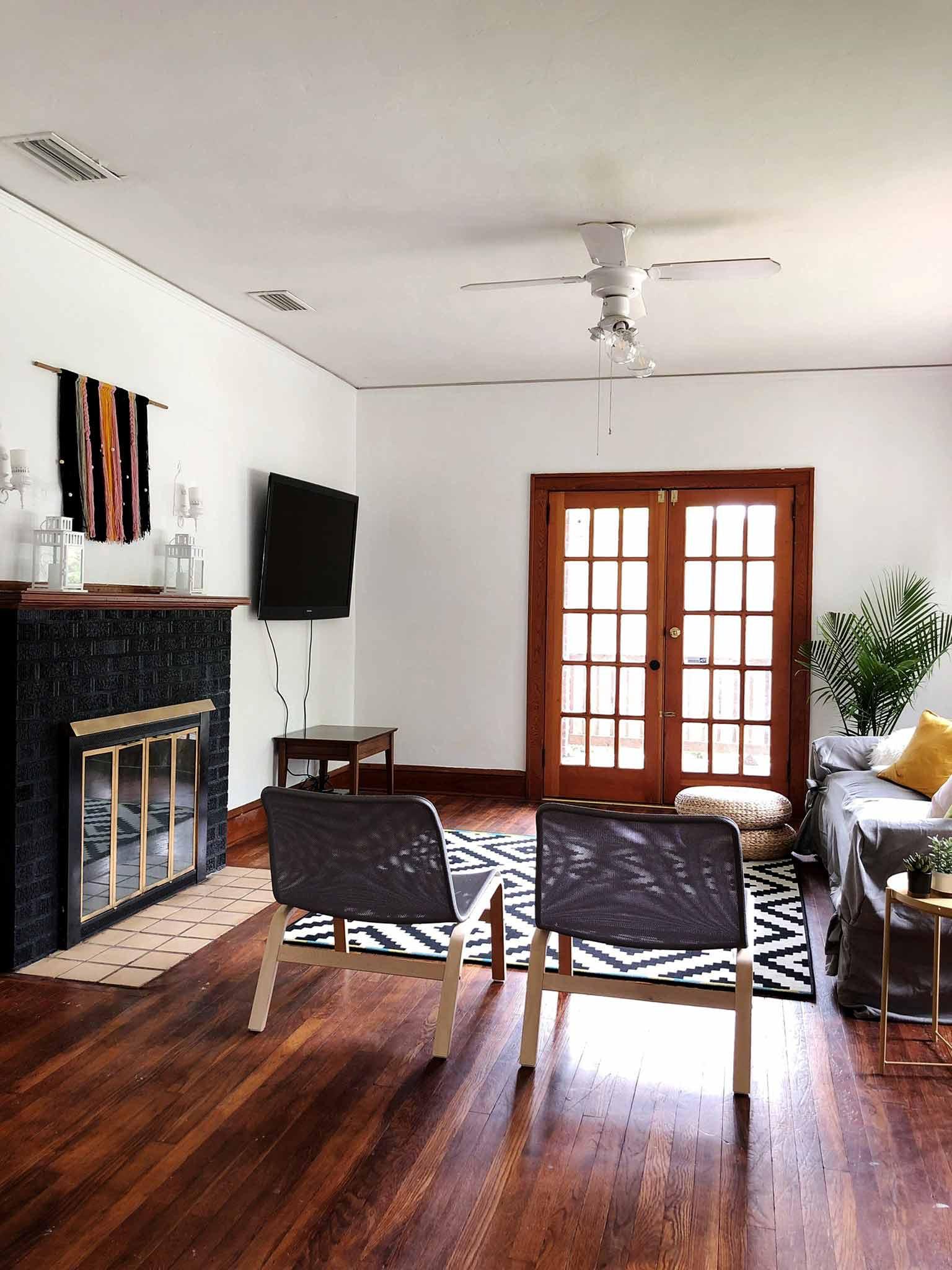 Minimalistic Living Room  A Modern Minimalist Living Room Makeover on a Bud