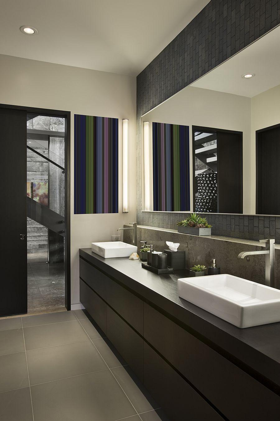 Modern Bathroom Design Ideas  Guest Bathroom Ideas with Pleasant Atmosphere Traba Homes