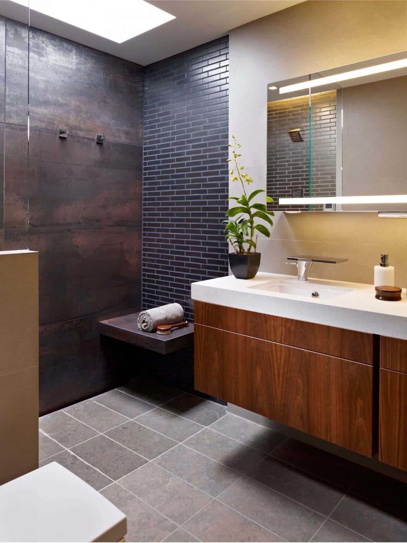 Modern Bathroom Design Ideas  37 Amazing mid century modern bathrooms to soak your senses