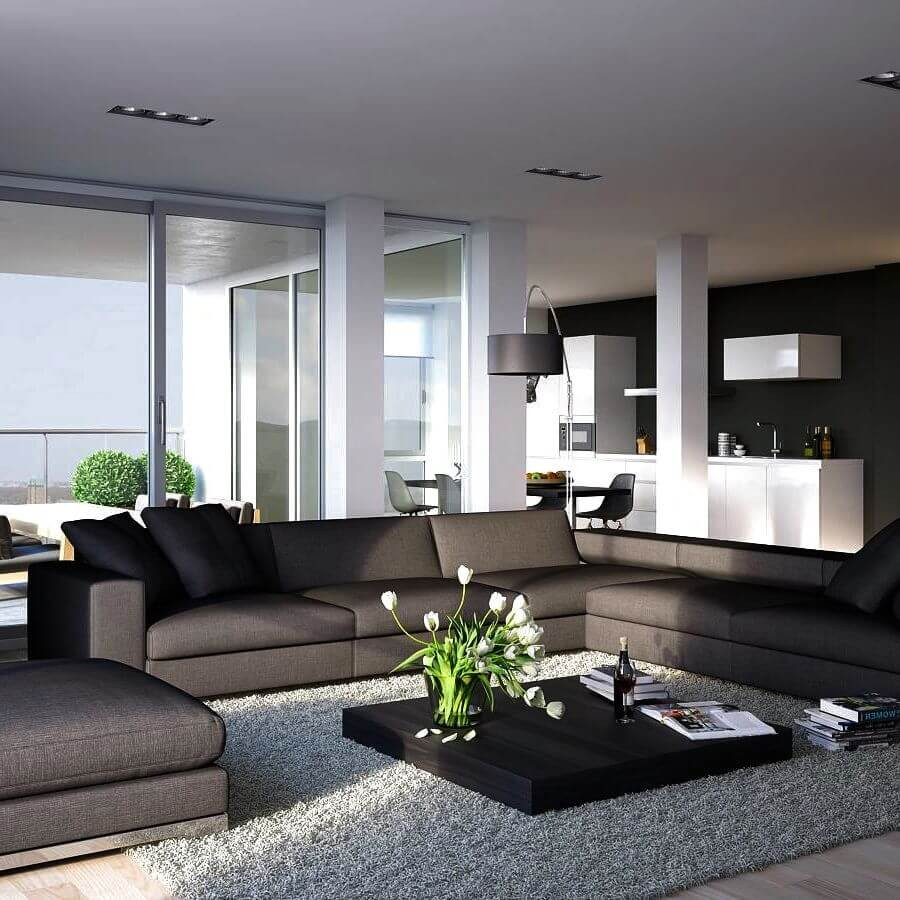 Modern Living Room  15 Attractive Modern Living Room Design Ideas
