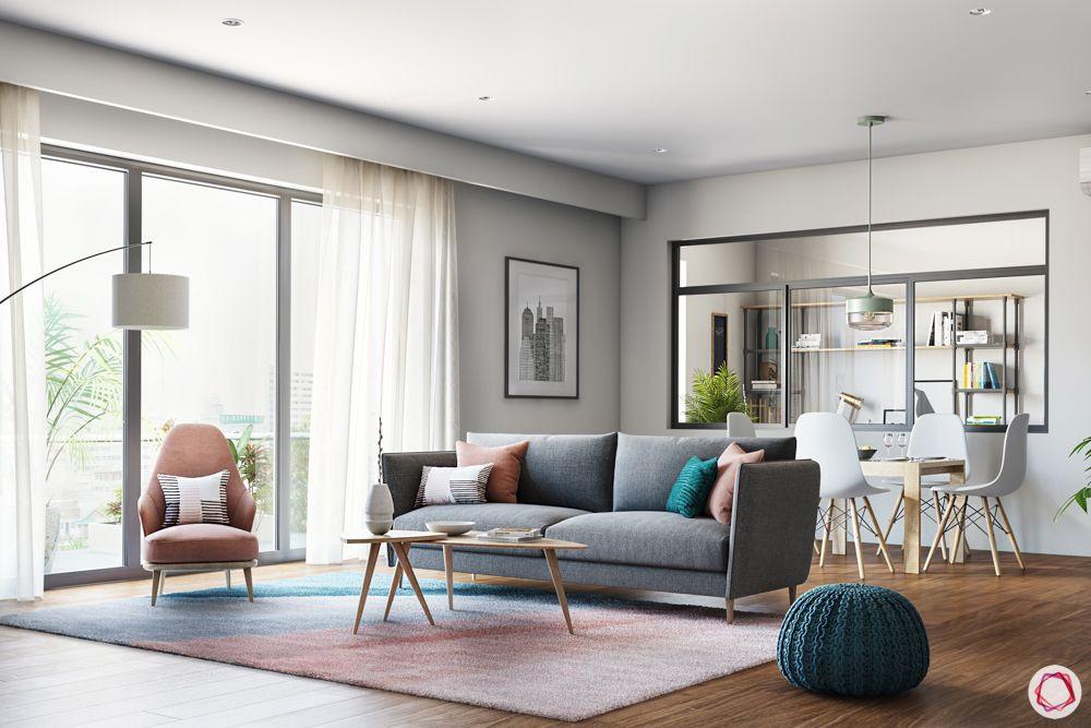 Modern Living Room  Modern Living Rooms Design & Decor