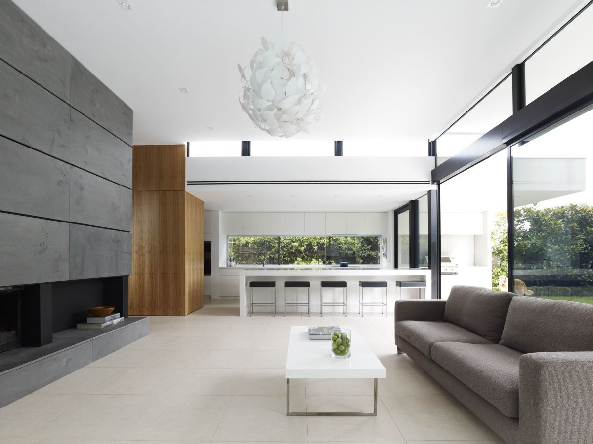 Modern Living Room  51 Modern Living Room Design From Talented Architects