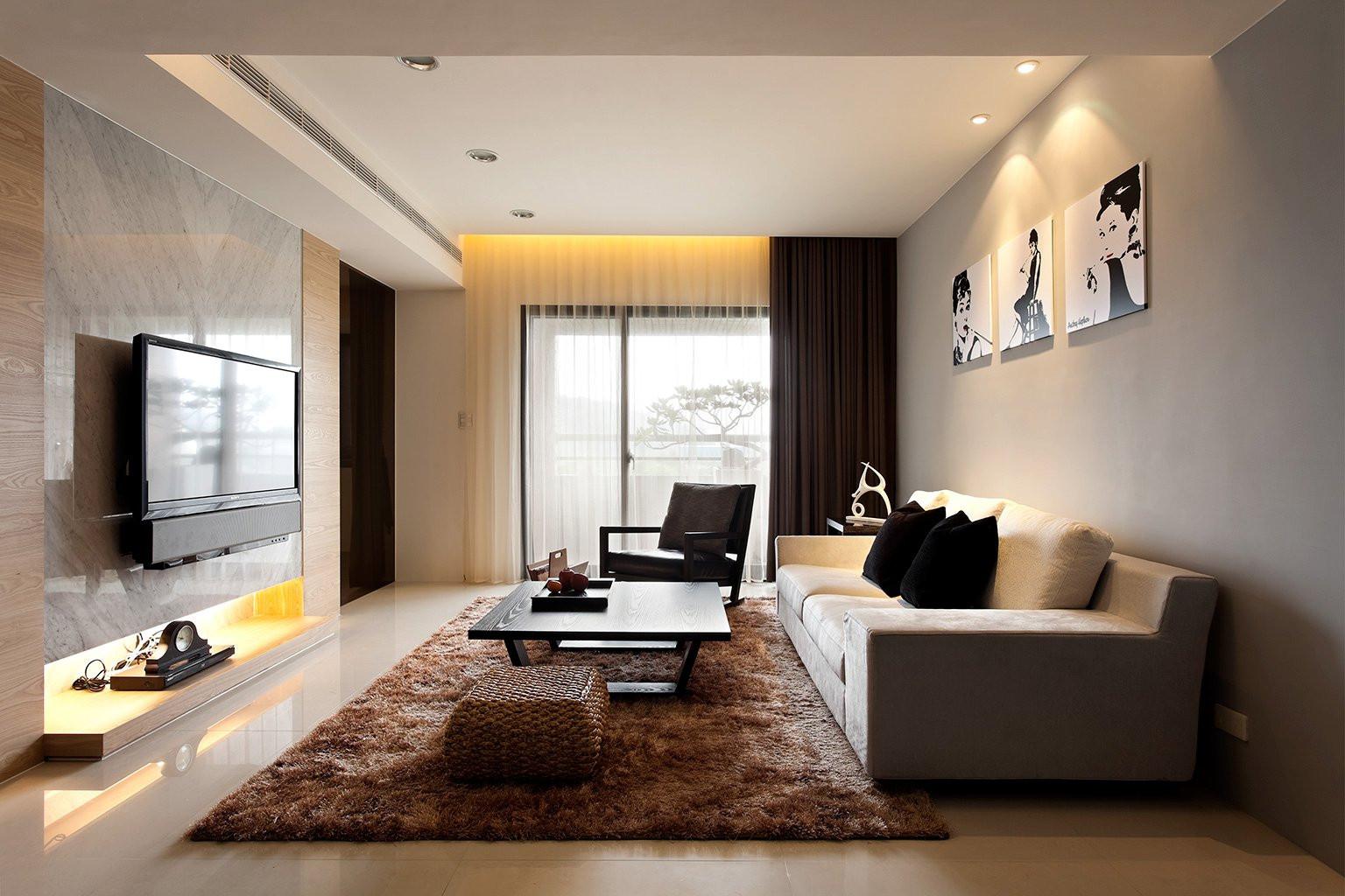 Modern Living Room  Modern Minimalist Decor with a Homey Flow