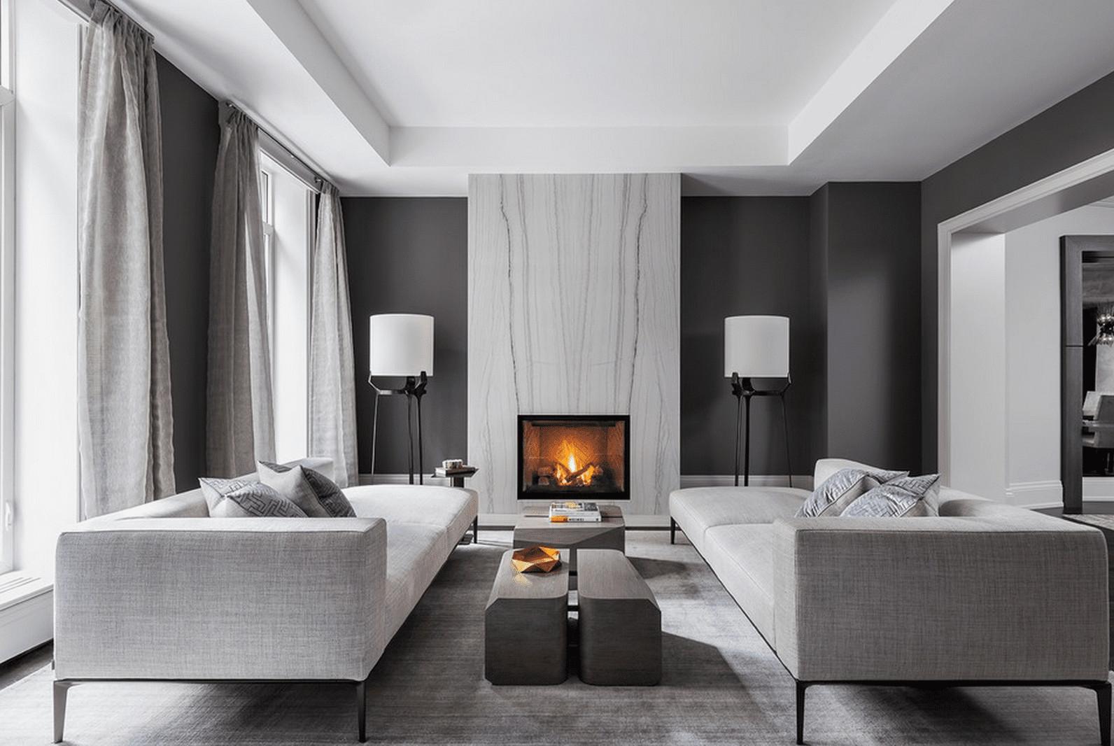Modern Living Room  21 Modern Living Room Design Ideas