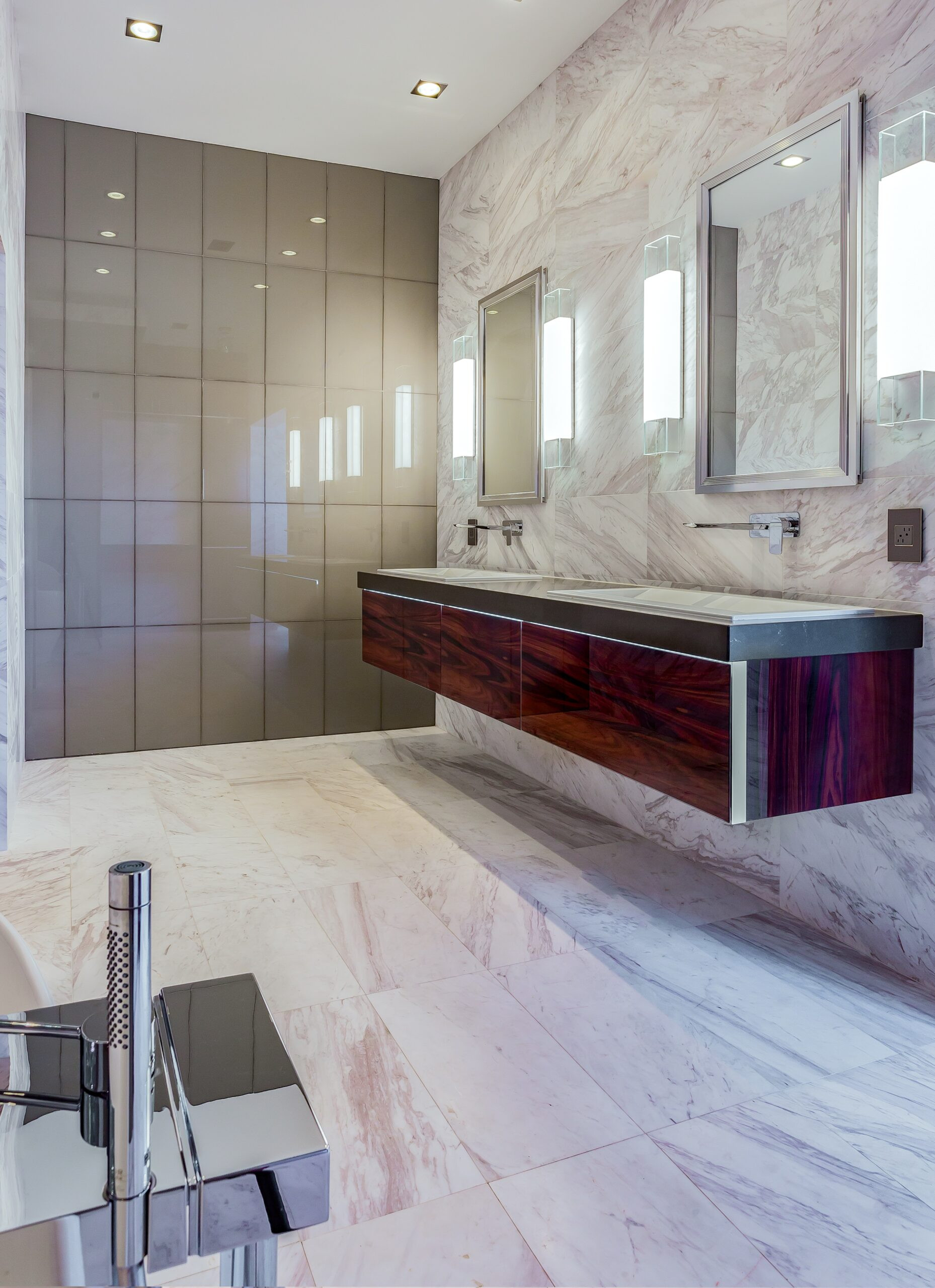 Modern Master Bathroom  Luxurious Ultra Modern Master Bath Kemah TX