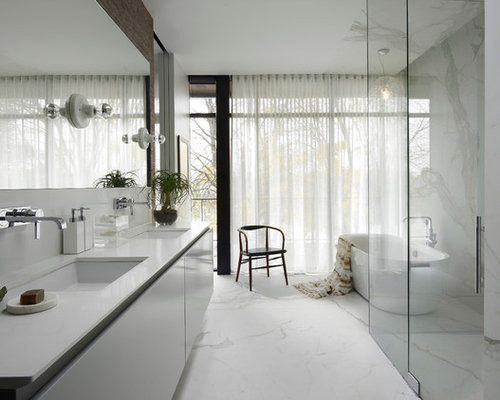 Modern Master Bathroom  Modern Master Bathroom