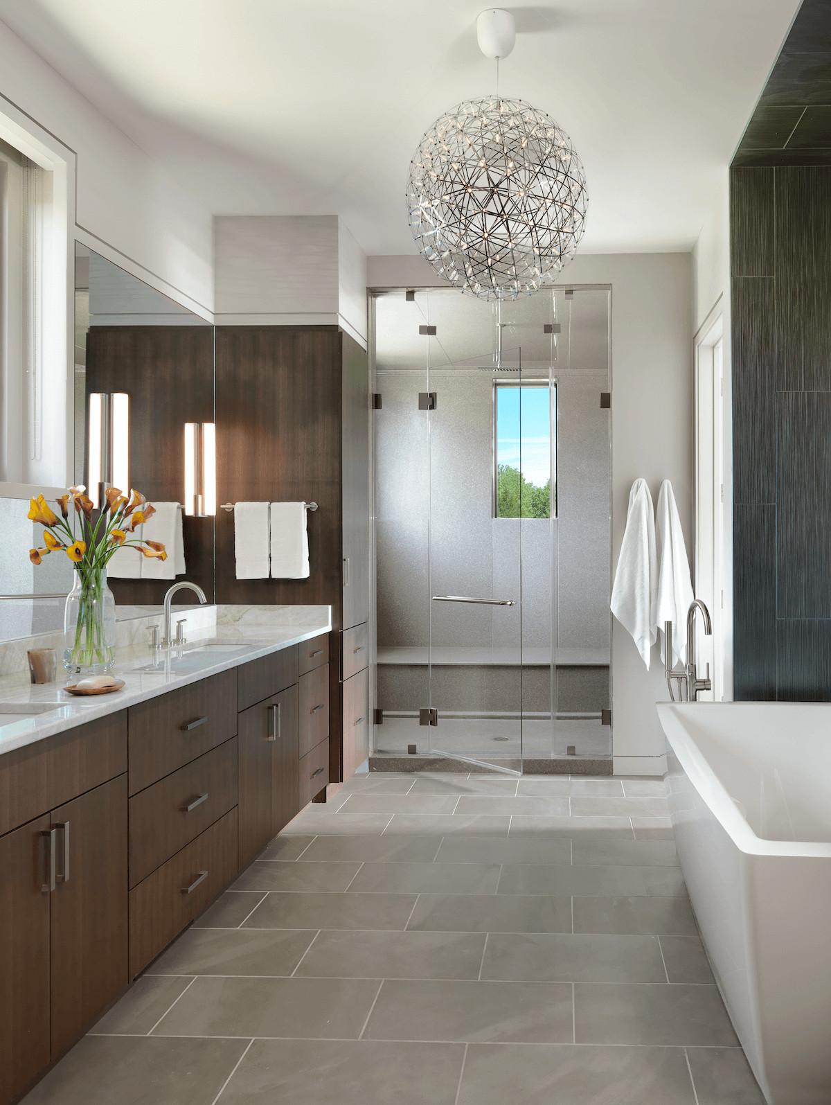 Modern Master Bathroom  BATHROOM Archives Beck Allen Cabinetry