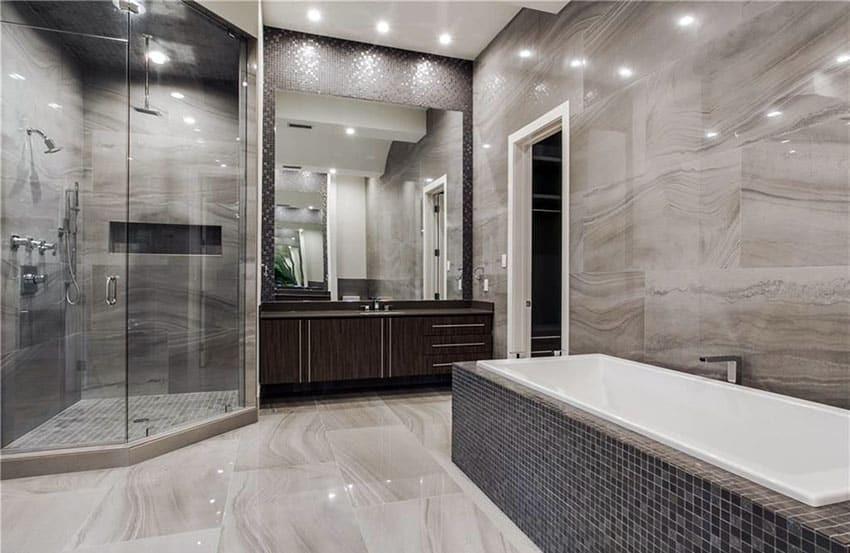 Modern Master Bathroom  40 Modern Bathroom Design Ideas Designing Idea