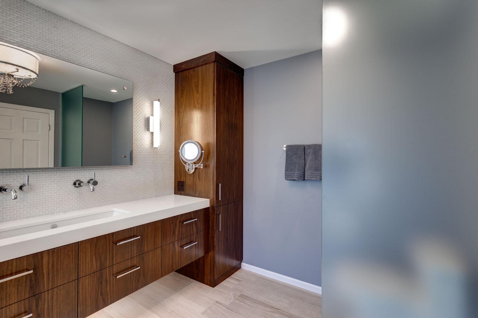 Modern Master Bathroom  Bathroom Remodeling Minneapolis & St Paul Minnesota