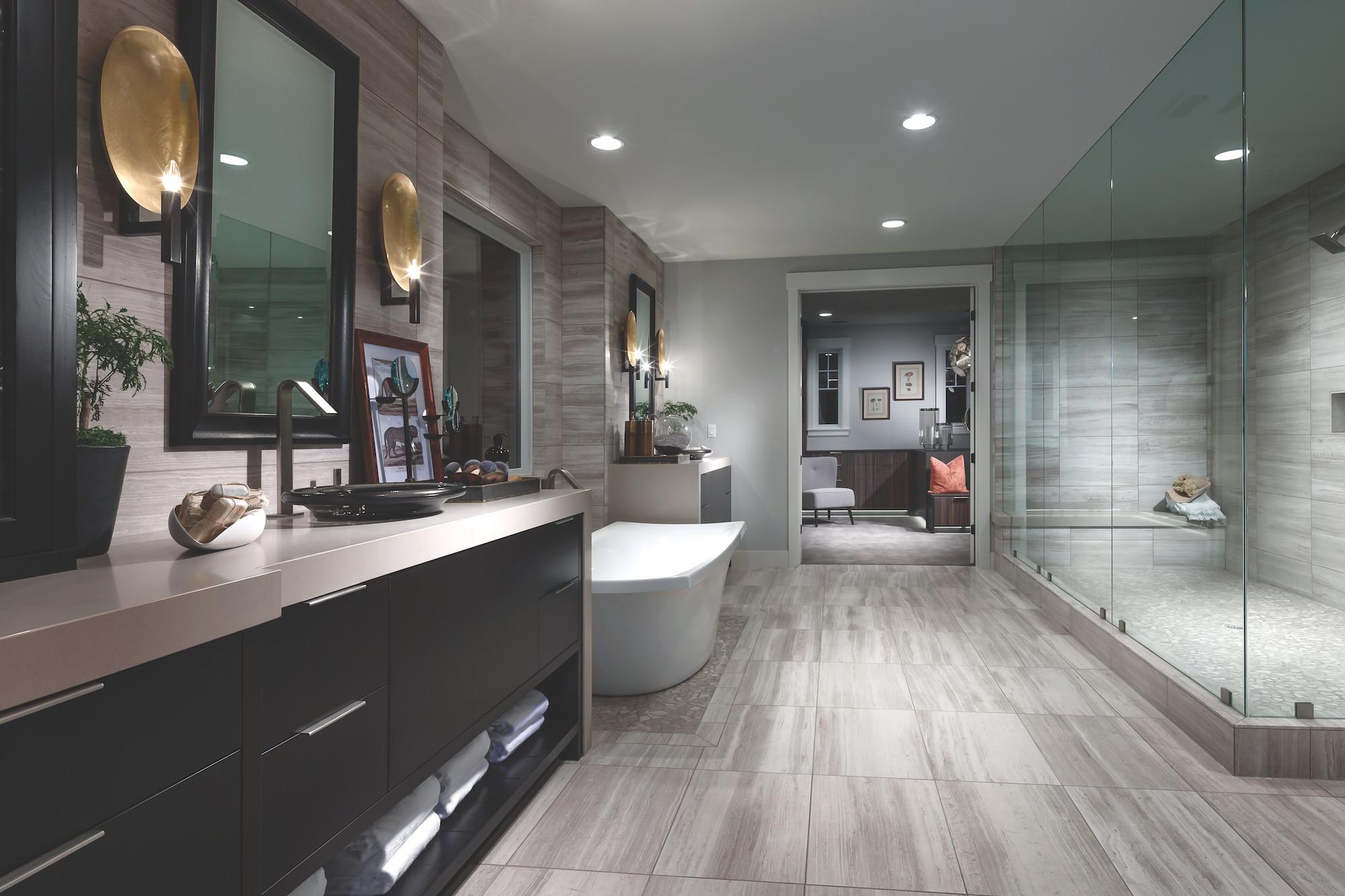 Modern Master Bathroom  25 Luxury Bathroom Ideas & Designs