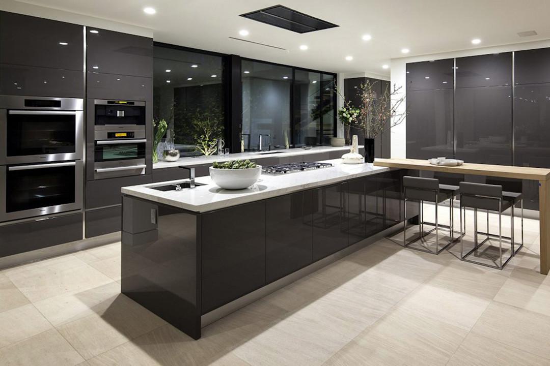 Modern Style Kitchen Cabinets New Kitchen Cabinet Design Services © Interior Renovation Malaysia