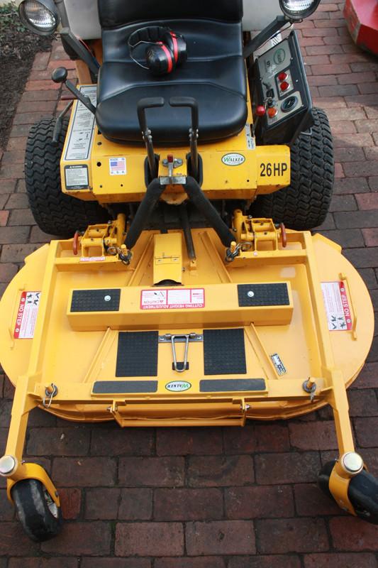 Mower Deck Paint  Walker Mower Deck Repaint