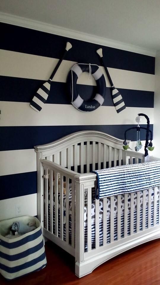 Nautical Decor for Baby Room New Start Of Landon S Nautical themed Nursery Project Nursery
