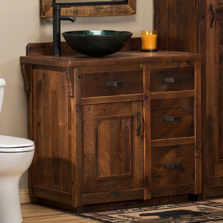 Old Barn Wood Bathroom Vanity Best Of Rocky Creek Barn Wood Vanity