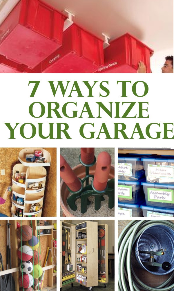 Organize Your Garage  DIY Home Sweet Home 7 ways to organize your garage
