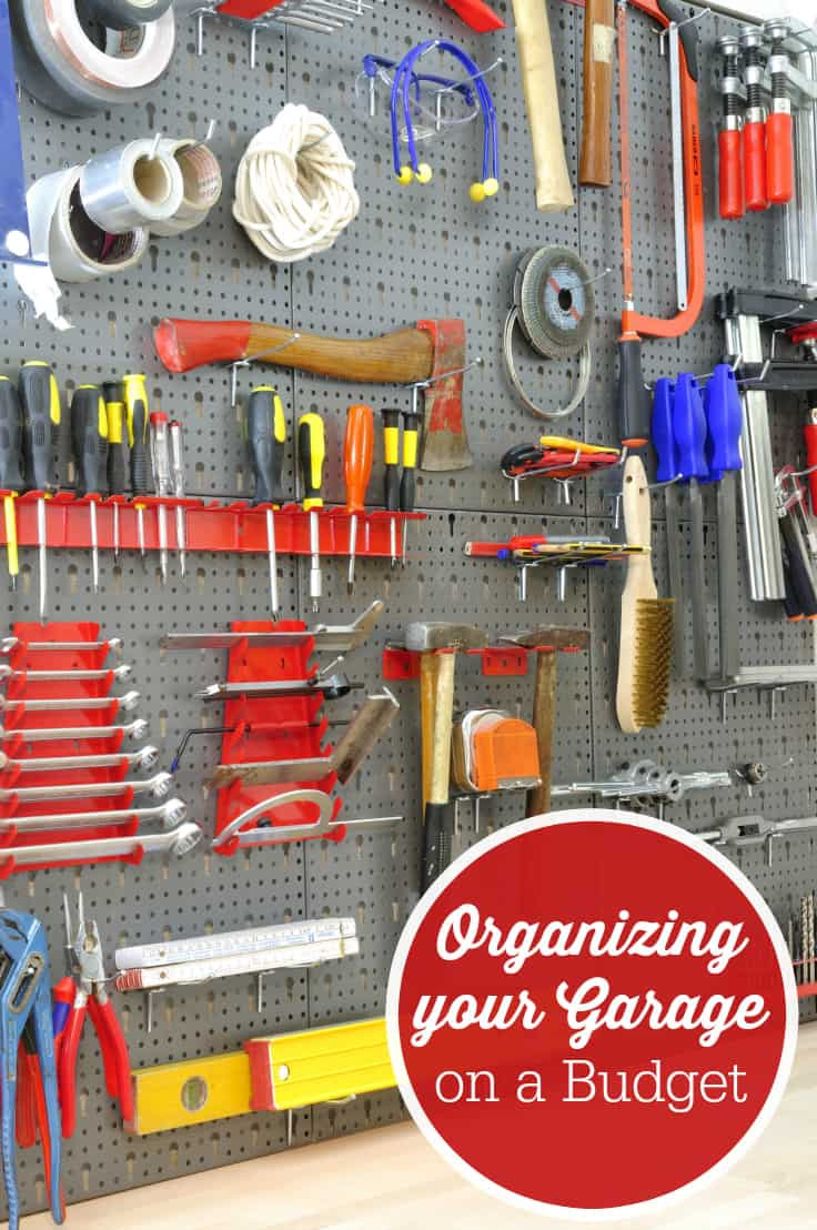Organize Your Garage  Organizing your Garage on a Bud Simply Stacie