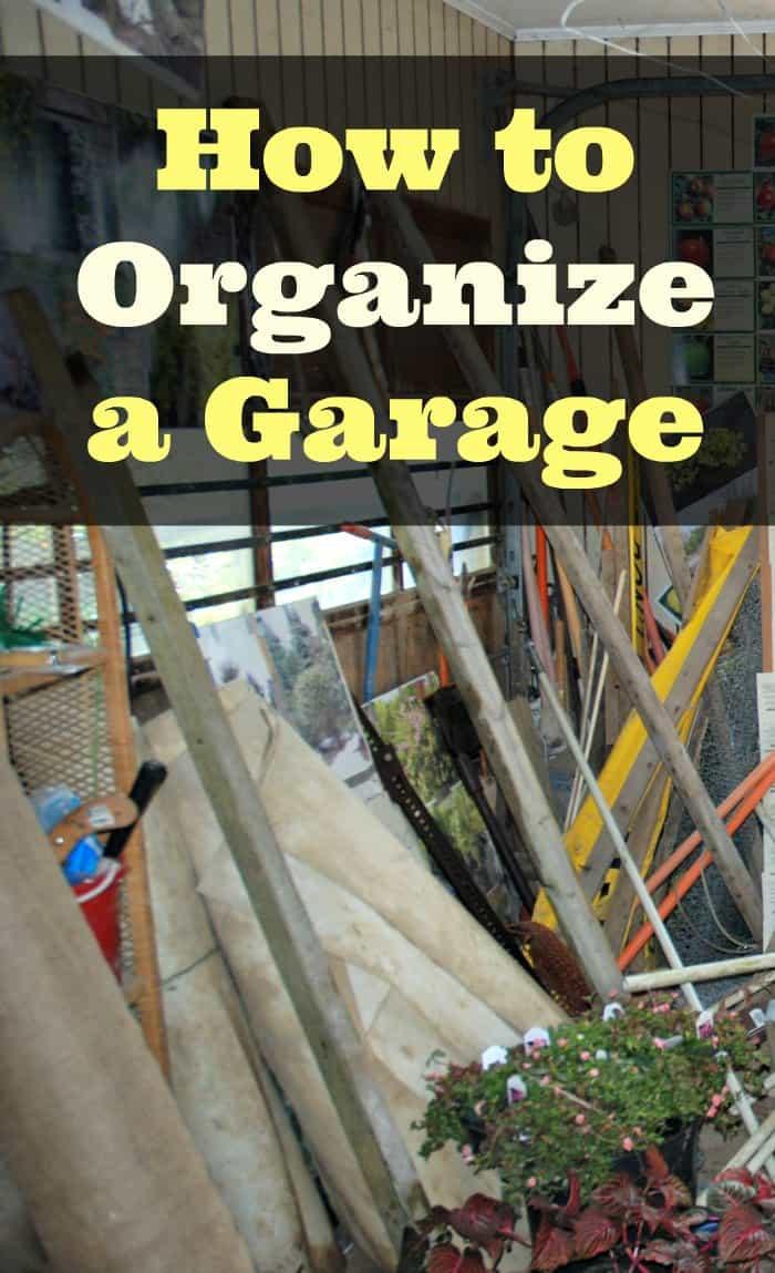 Organize Your Garage  How to Organize a Garage iSaveA2Z