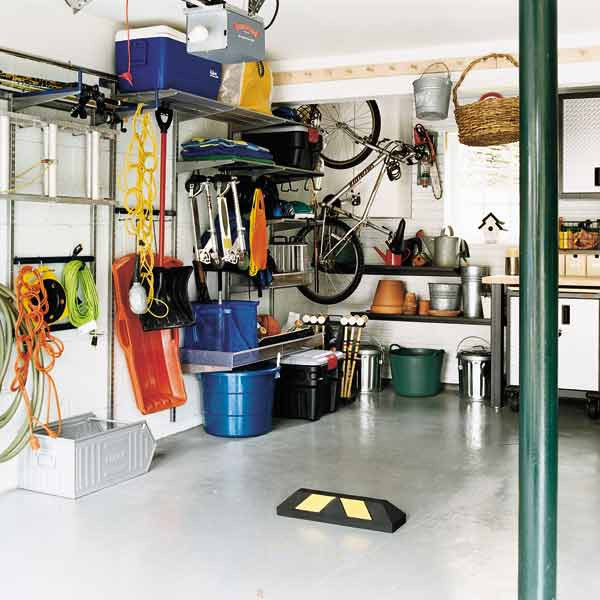 Organize Your Garage  The Big Clean Out Continued