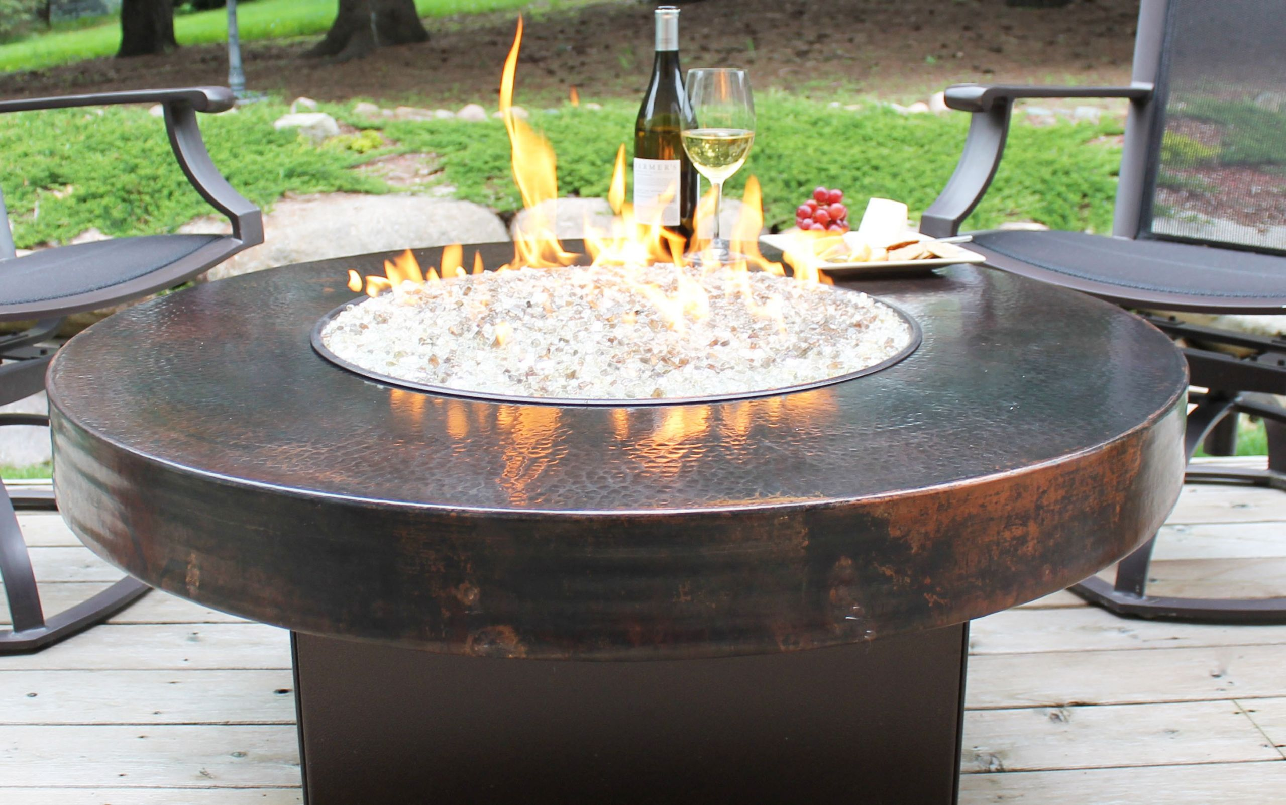 Outdoor Gas Fire Pits  How to Make Tabletop Fire Pit Kit DIY