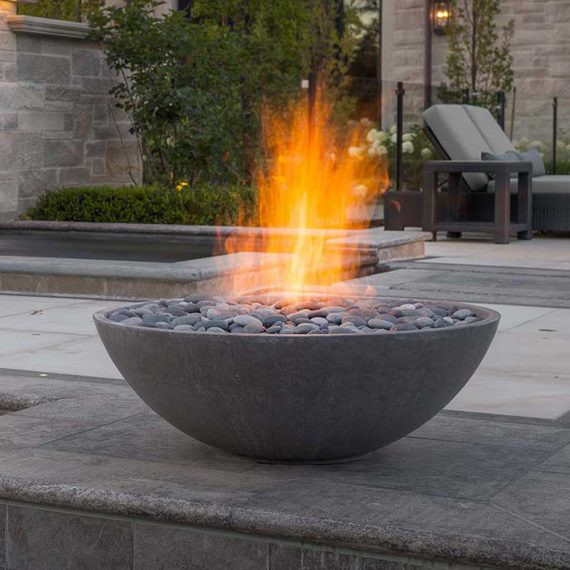 Outdoor Gas Fire Pits  Fire Pits Modern Contemporary Outdoor Gas and Propane