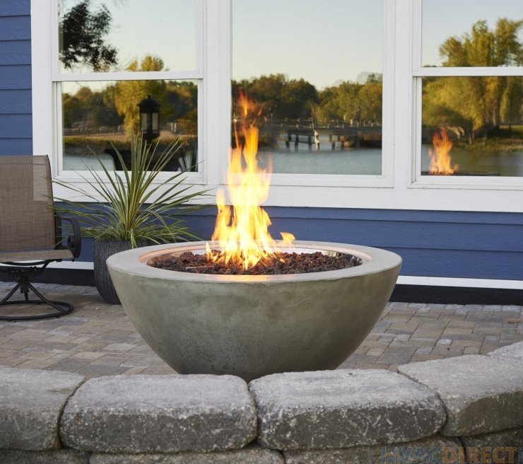 Outdoor Gas Fire Pits  The Outdoor Greatroom Cove 30 Inch Gas Fire Pit Bowl